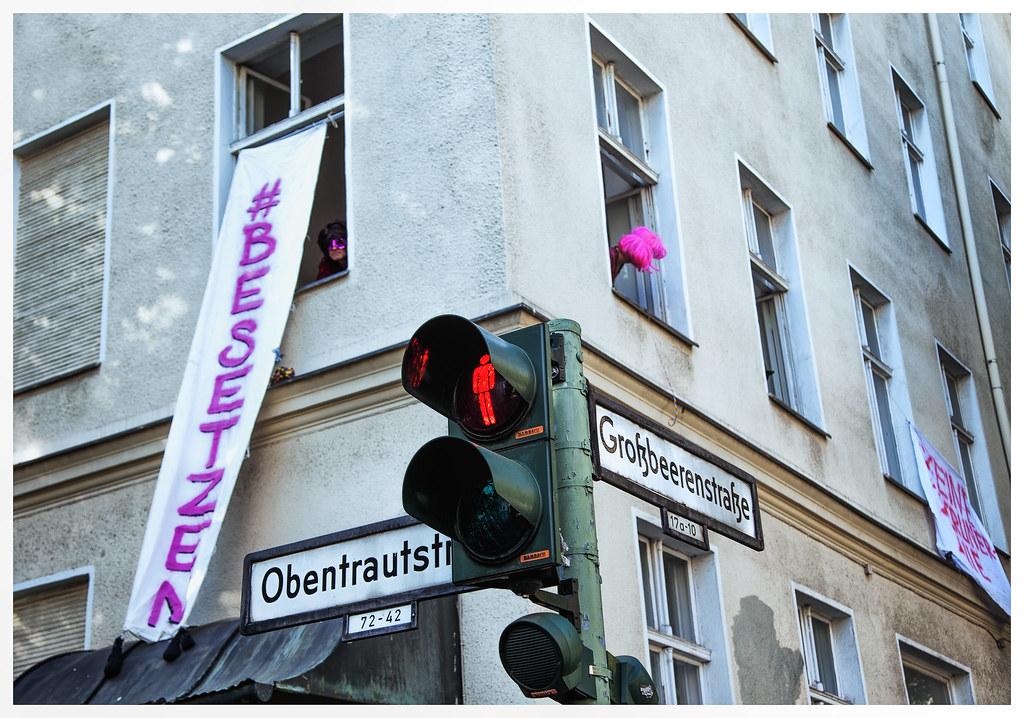 Hausbesetzung Berlin