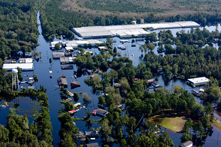 Aerial Photos of flooding caused by Hurricane Florence | by S.C. Air National Guard