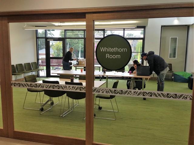 Whitethorn Room in the Greythorn Community Hub, North Balwyn