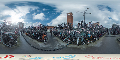 Netherlands: Bicycle Parking at the Nijmegen Train Station | by SUTP