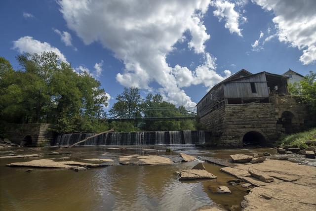 Falls of the Rough, Rough River, Grayson County, Kentucky 1