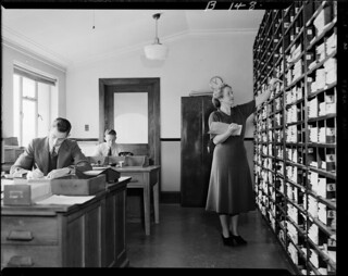 Staff Training Office, 5th floor Railway building, 1950 | by Archives New Zealand