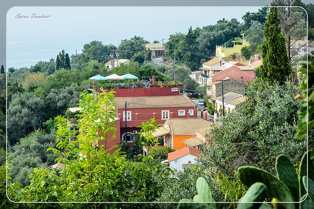 Traditional village Chlomos Corfu - Παραδοσιακό Χωριό Χλωμός