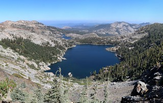 2414 Dicks Lake to the north from Dicks Pass on the Pacific Crest Trail - our final view of this lake | by _JFR_