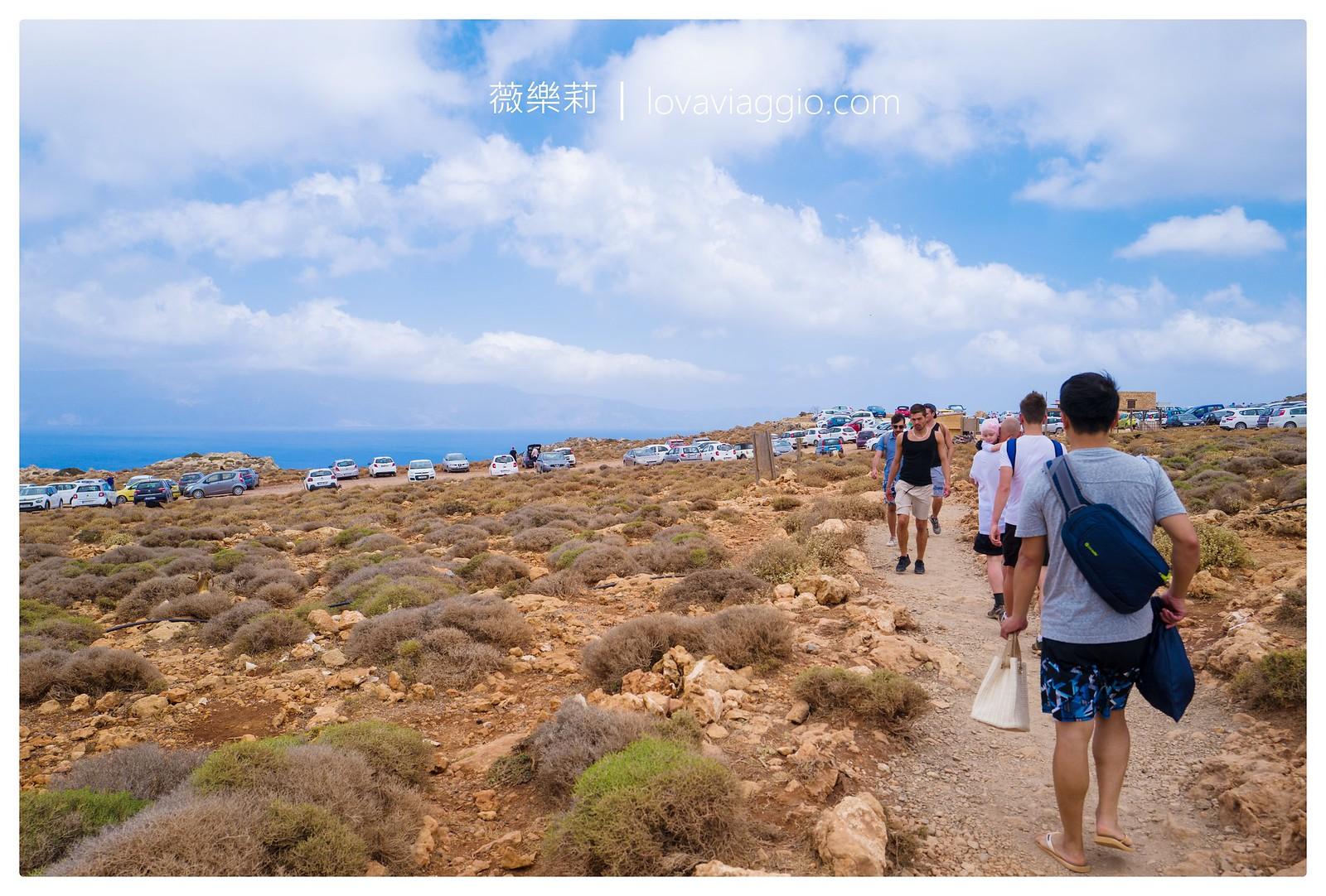 【希臘克里特島Crete】Balos Lagoon 地中海的藍色潟湖沙灘 @薇樂莉 Love Viaggio   旅行.生活.攝影