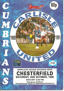Carlisle United V Chesterfield 20-10-90 | by cumbriangroundhopper