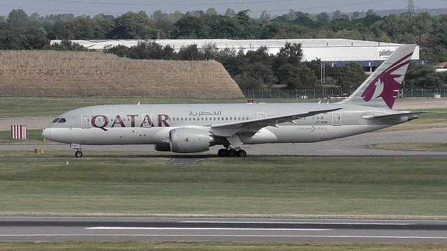 A7-BDB Qatar Airways Boeing 787-8 Dreamliner