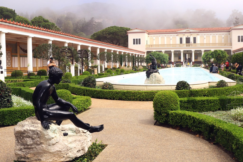 Image result for the getty villa