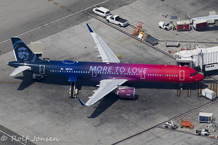 N927VA Airbus A321NEO Alaska airlines Los Angeles airport KLAX 12.09-18 | by rjonsen