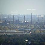 Das UNESCO-Welterbe Zollverein in Essen vom Gasometer aus gesehen