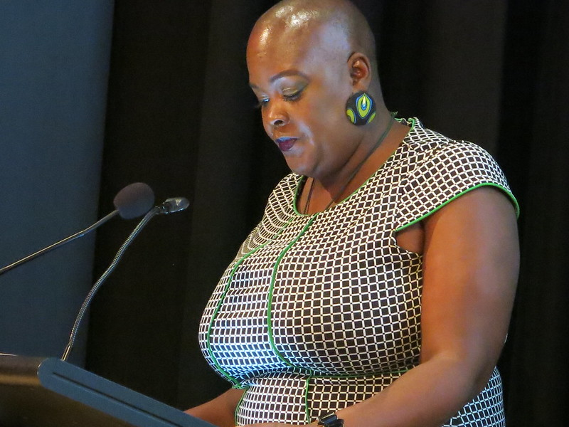 Sonya Renee Taylor at The Body Issue: WORD Christchurch Festival 2018