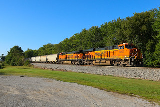 BNSF 8207 North, Elkville,IL 9/15/2018 | by Bluegrass Railfan