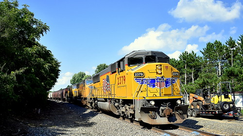 marion branch sd60m union pacific leesburg train