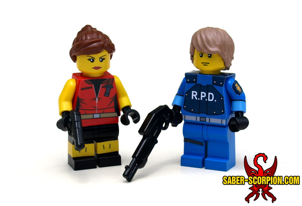 Resident Evil 2 Claire Redfield And Leon Kennedy A Photo On Flickriver