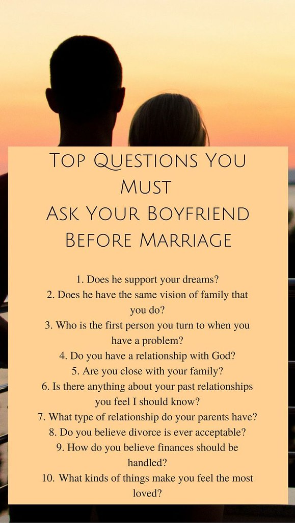 Ask your to boyfriend questions 225+ Truth