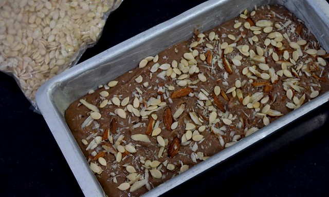 Best banana cake before baking
