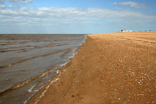 The beach at Shepherd's Port, Snettisham