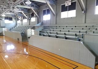 IN, Knightstown-Hoosier Gym North Bleachers
