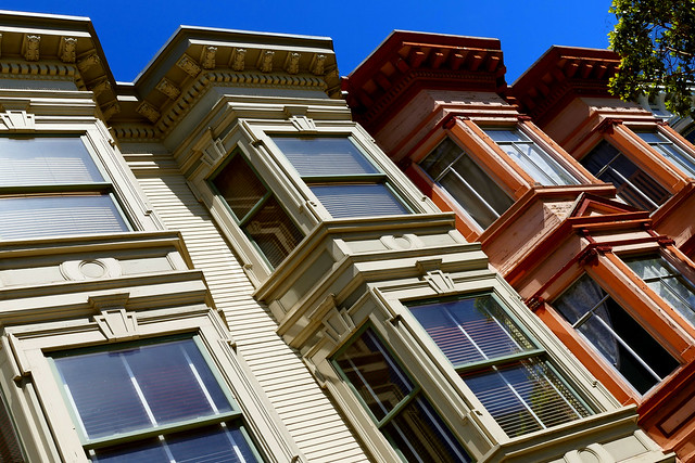 sunday streets in the mission, victorian architecture