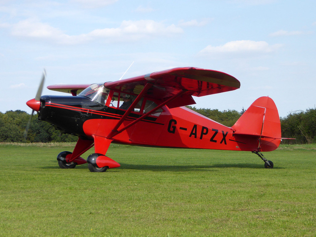 G-APZX Piper PA-20 Pacer cn 22-5181 Sywell 01Sep18   Flickr
