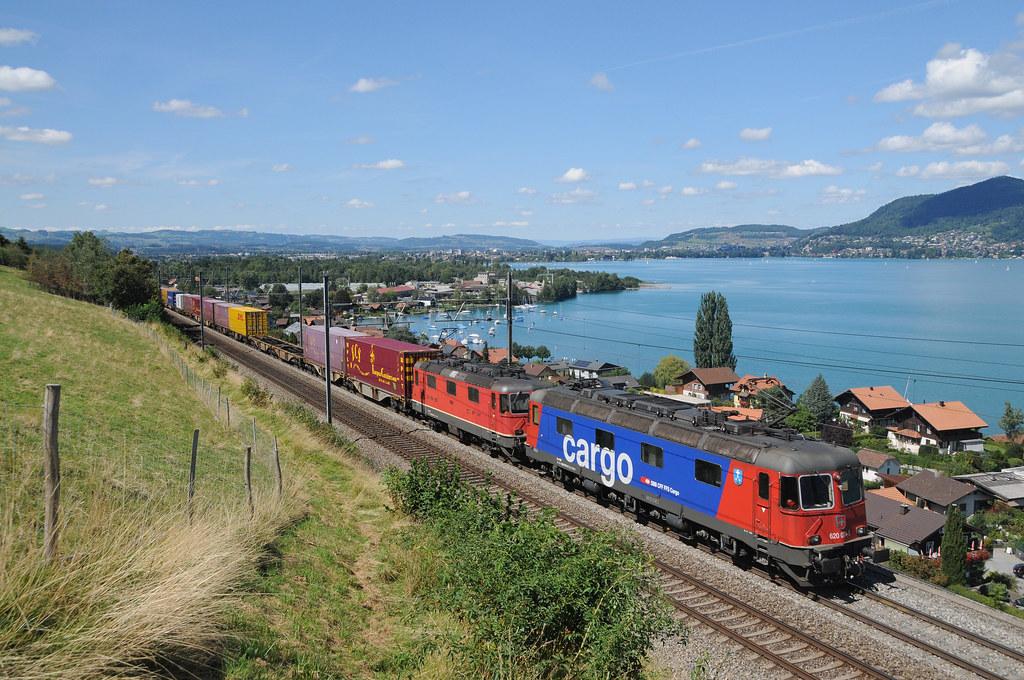 620 074 & 11341 - Einigen (CH) 26/08/18 by James Welham