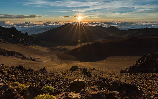 Sunrise at Haleakalā National Park