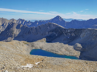 Looking north from Forester Pass. I was on that ridge two days before! | by snackronym