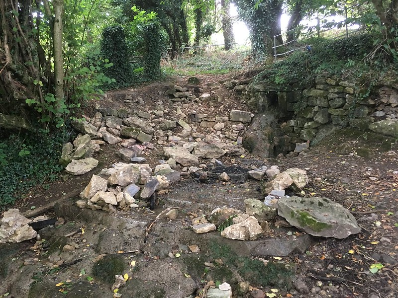 The source of Pigeonhouse Stream