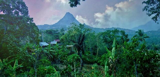 INDONESIEN; SULAWESI, von Makassar nach Tanah Toraja, Vulkanlandschaft , 17570/10575
