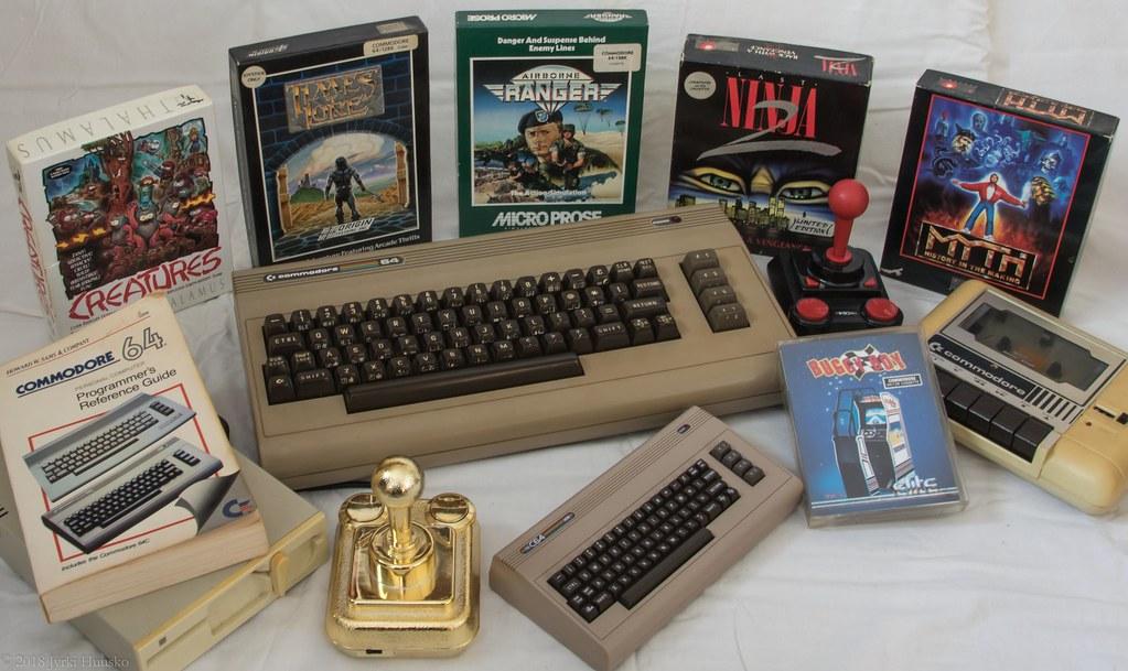 Retrogaming C64 + The C64 Mini | Jyrki Huusko | Flickr