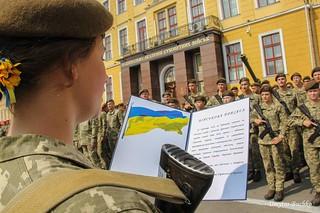 Першокурсники Національної академії сухопутних військ склали Військову присягу | by Ministry of Defense of Ukraine
