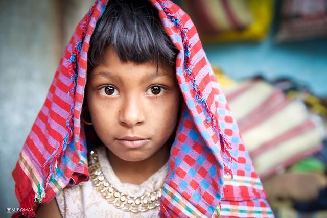 Little Girl in Kolkata