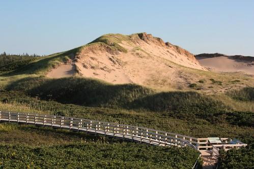 greenwich pei canada boardwalk dunes sand sanddunes nationalpark