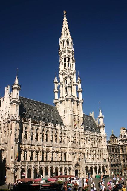 Hotel de Ville, Grand Place, Brussels