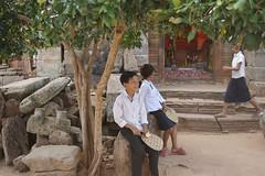 Kids at Wat Banan