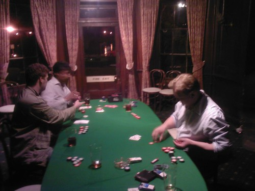 Poker game - The first in the series. At the Winchester ...