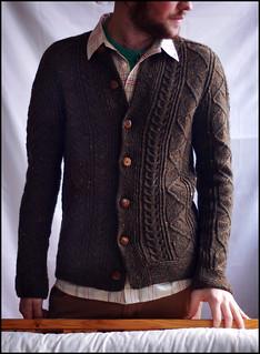 Saddle Shoulder Aran Cardigan 3 | by brooklyntweed