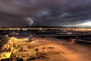Airport Lightning Storm | by RightBrainPhotography