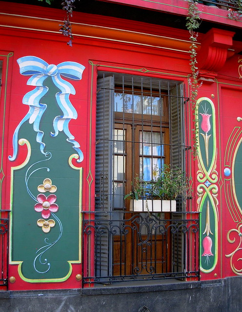 Window. Filete porteño
