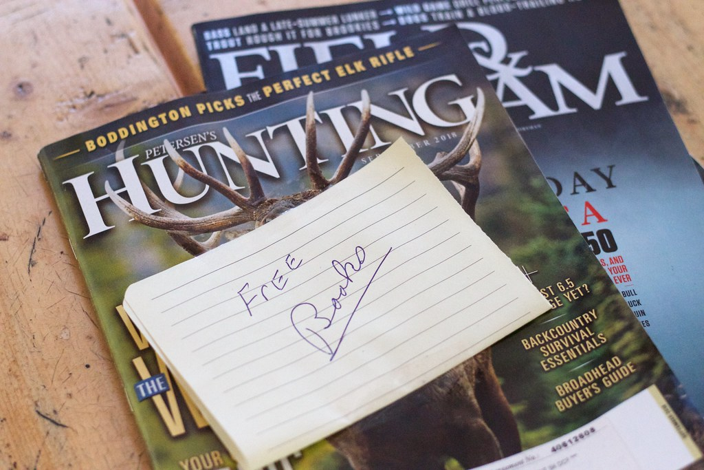Free As In Hunting and Fishing Magazines