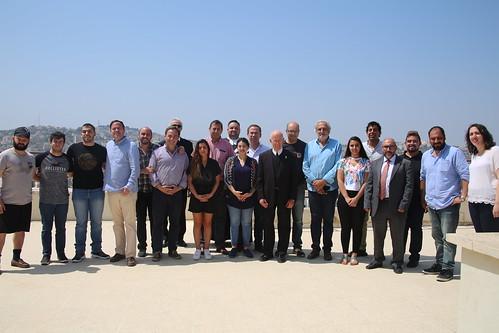 Chilean Parliament members visit