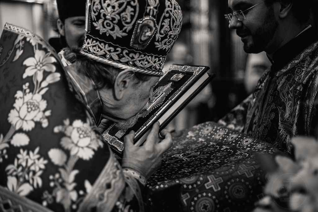 15 сентября 2018,Божественная литургия в Никольском морском соборе / 15 September 2018, Divine liturgy in St. Nicholas Naval Cathedral