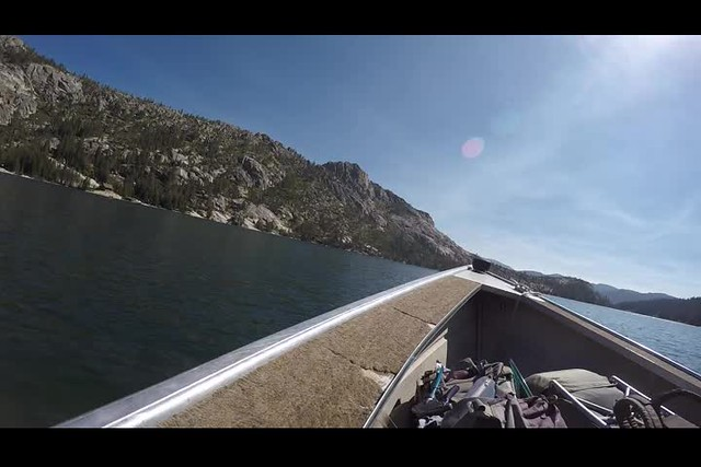 3227 GoPro video as we head for shore on the Echo Lake Water Taxi - this is much faster than hiking