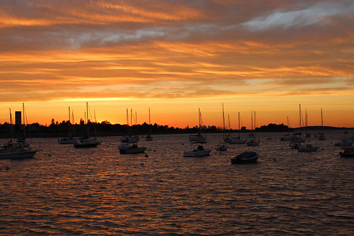 massachusetts ma sunset hingham boston landscape