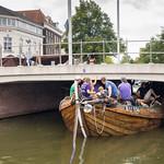 Onder de brug door Delft OWee 2018