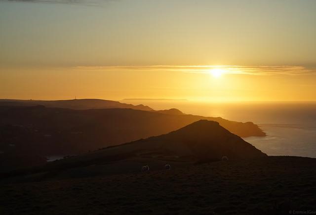 Hangman Hills Sunset