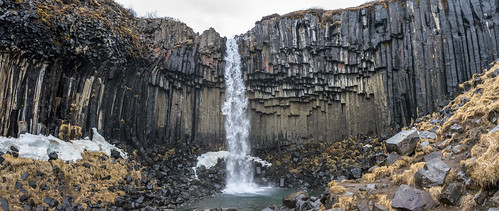 Svartifoss Panorama | by asenseof.wonder