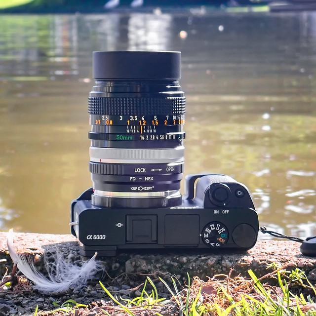 Canon FD 50mm ƒ/1.4 S.S.C. on SONY ⍺6000
