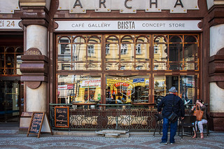 Prague coffee shop | Not Starbucks! | Grant Cameron | Flickr