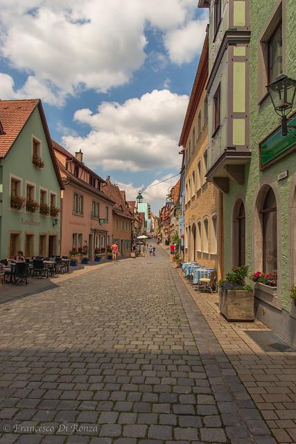 Cityscape Rothenburg ob der Tauber D 9.)1806-3613